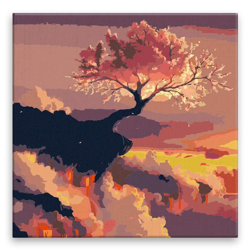 Malování podle čísel Kouzelná obloha