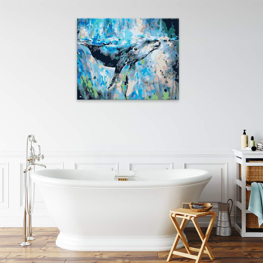 Obraz na zdi Velryba v moři