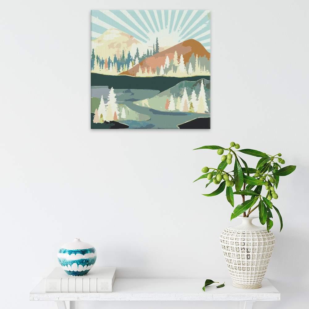 Obraz na zdi Podzimní slunce