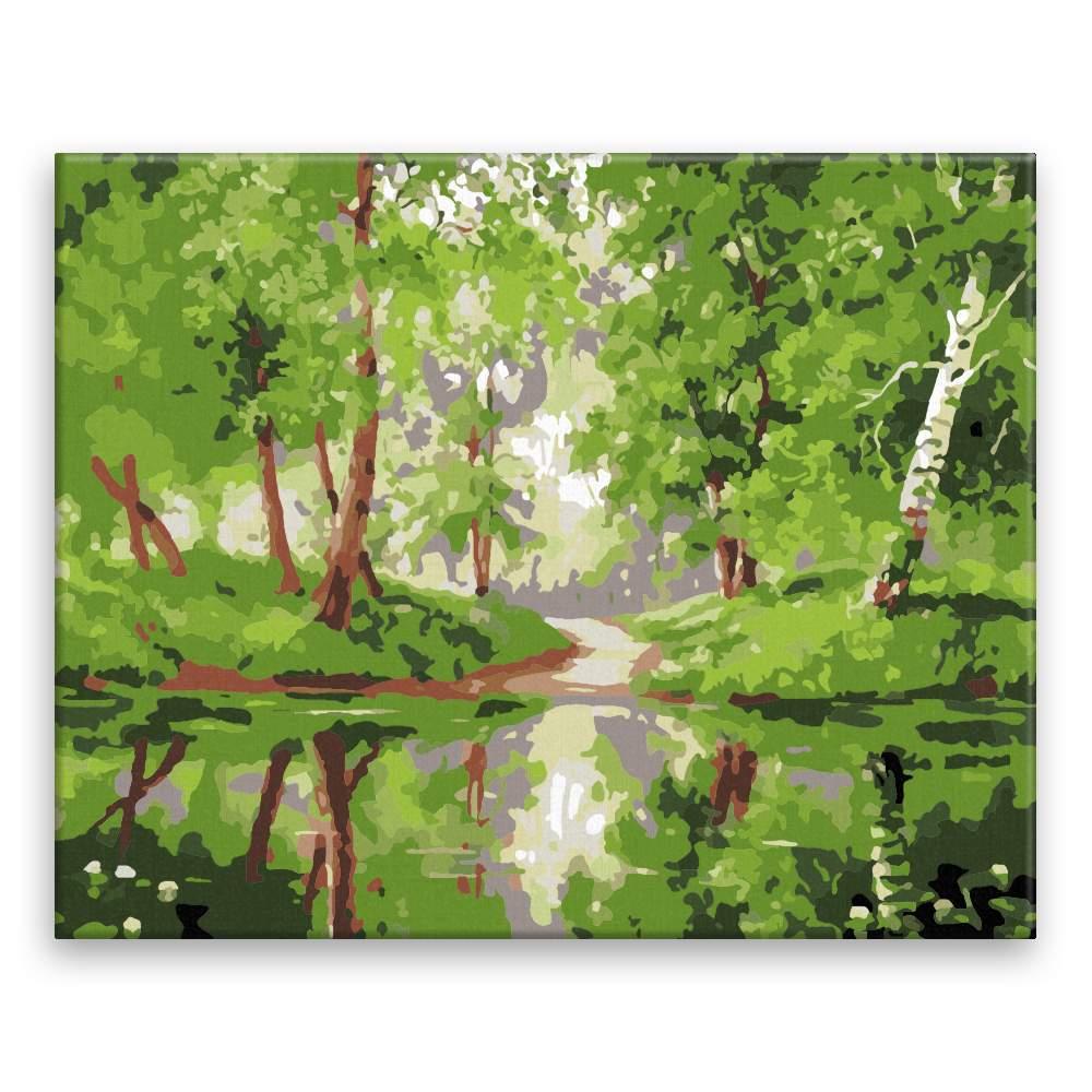 Malování podle čísel Břízoví park