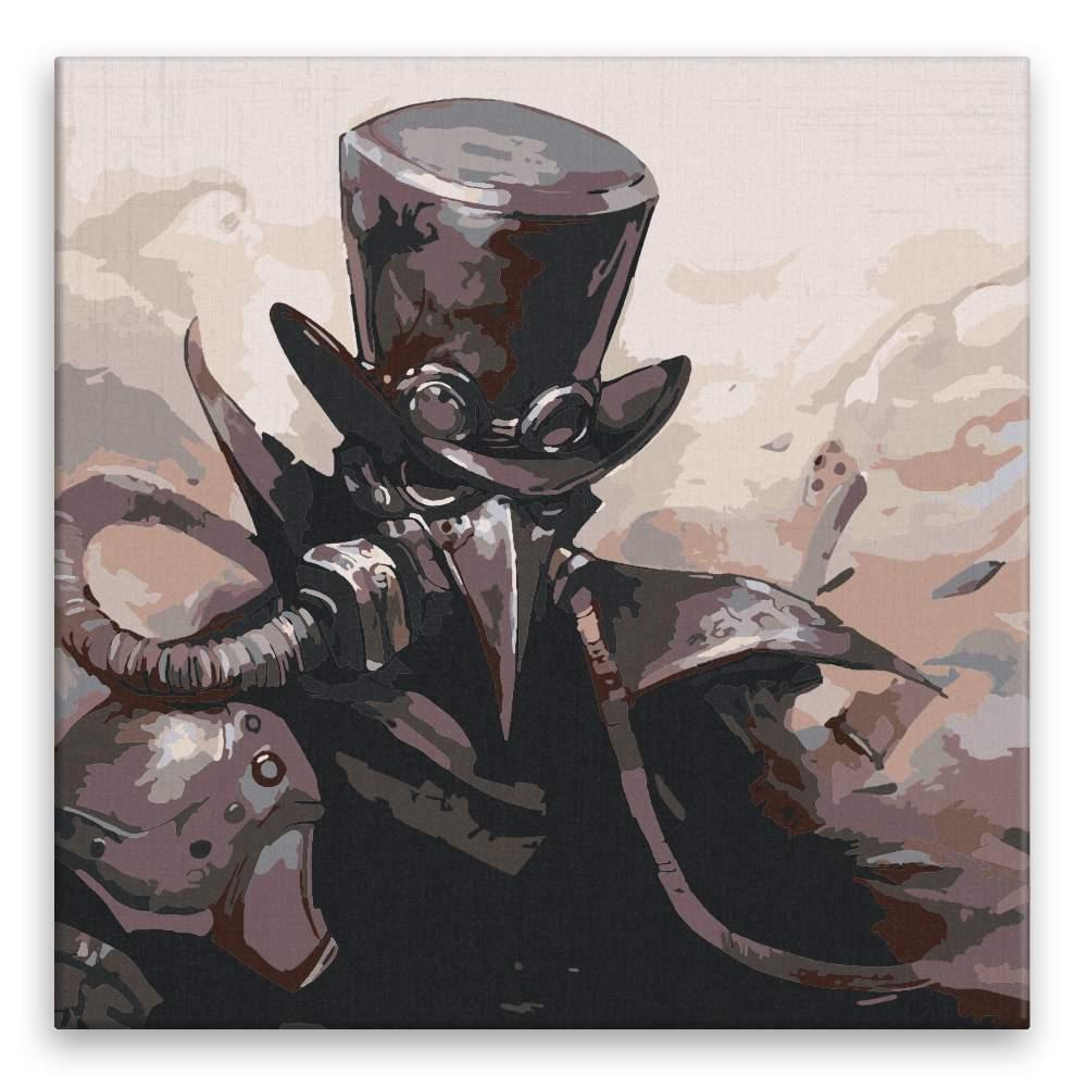 Malování podle čísel Vraní muž