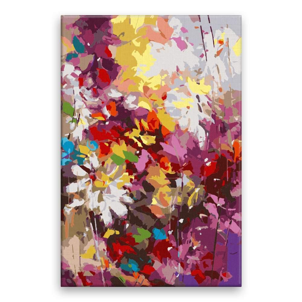 Malování podle čísel Květy snů