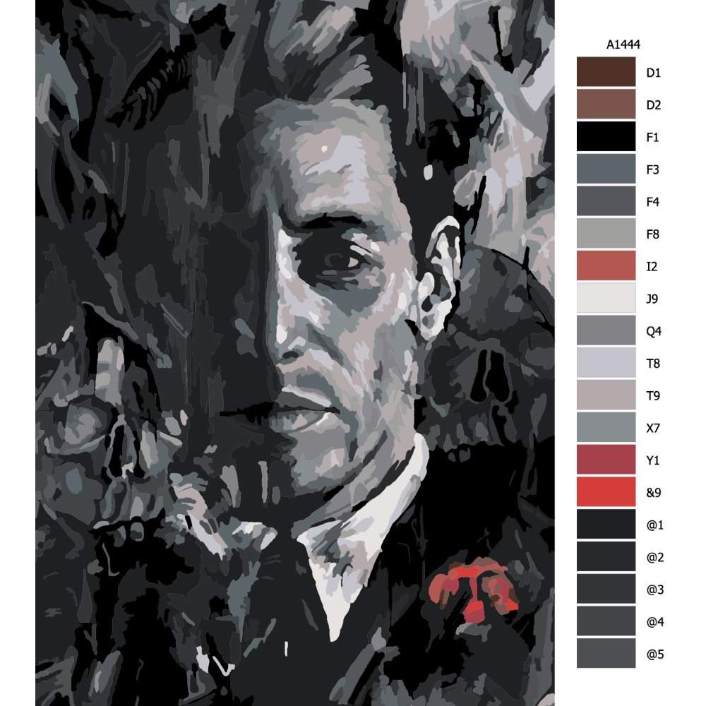 Malování podle čísel Mafie