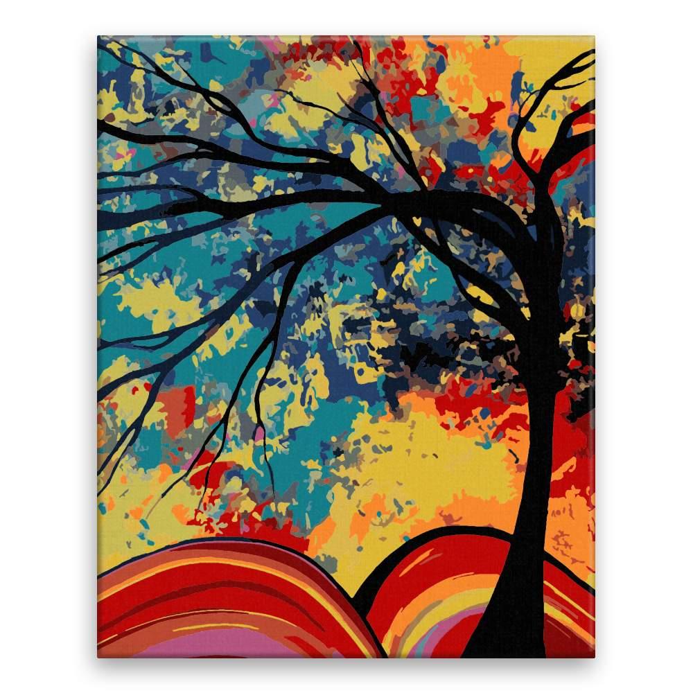 Malování podle čísel Barvy nebeské