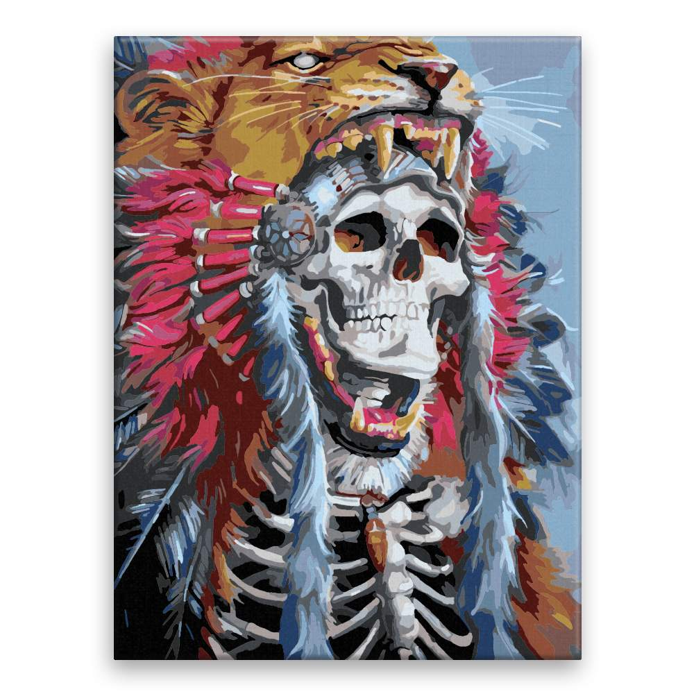 Malování podle čísel Mrtvý král