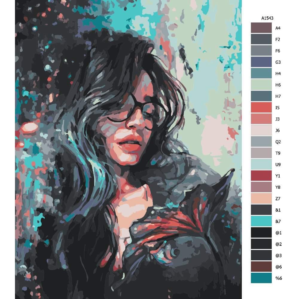 Malování podle čísel Rozvážná