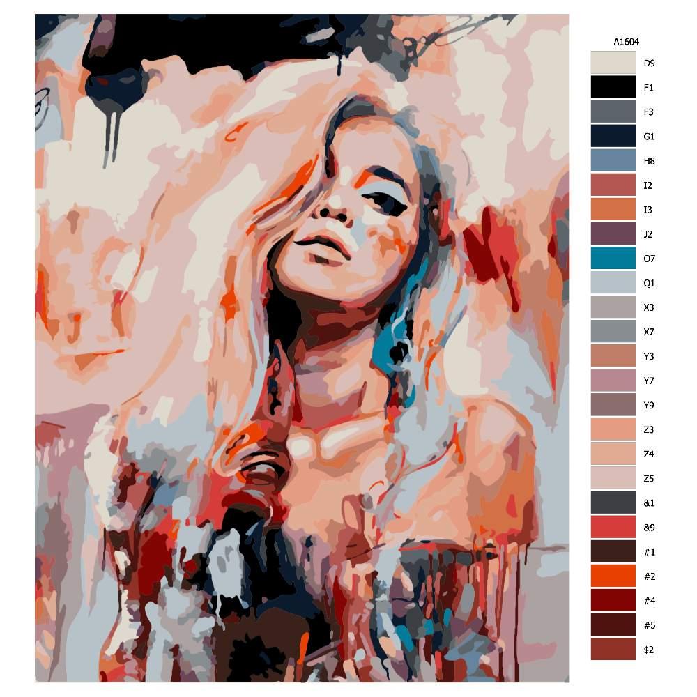 Malování podle čísel Uvolněná