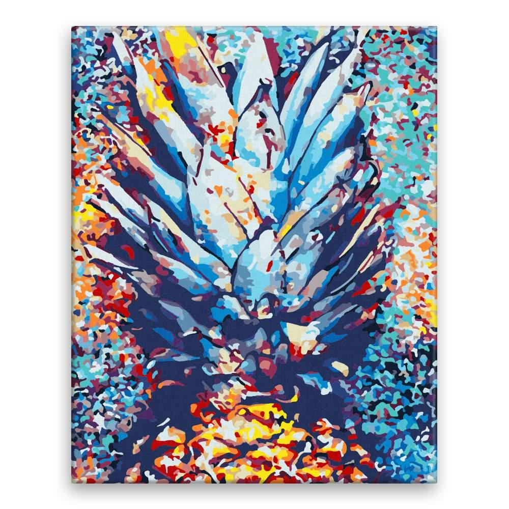 Malování podle čísel Ananas