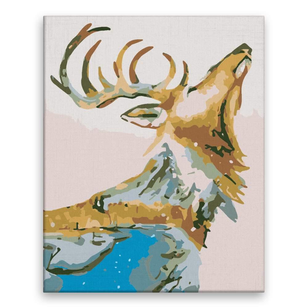 Malování podle čísel Volání lesa