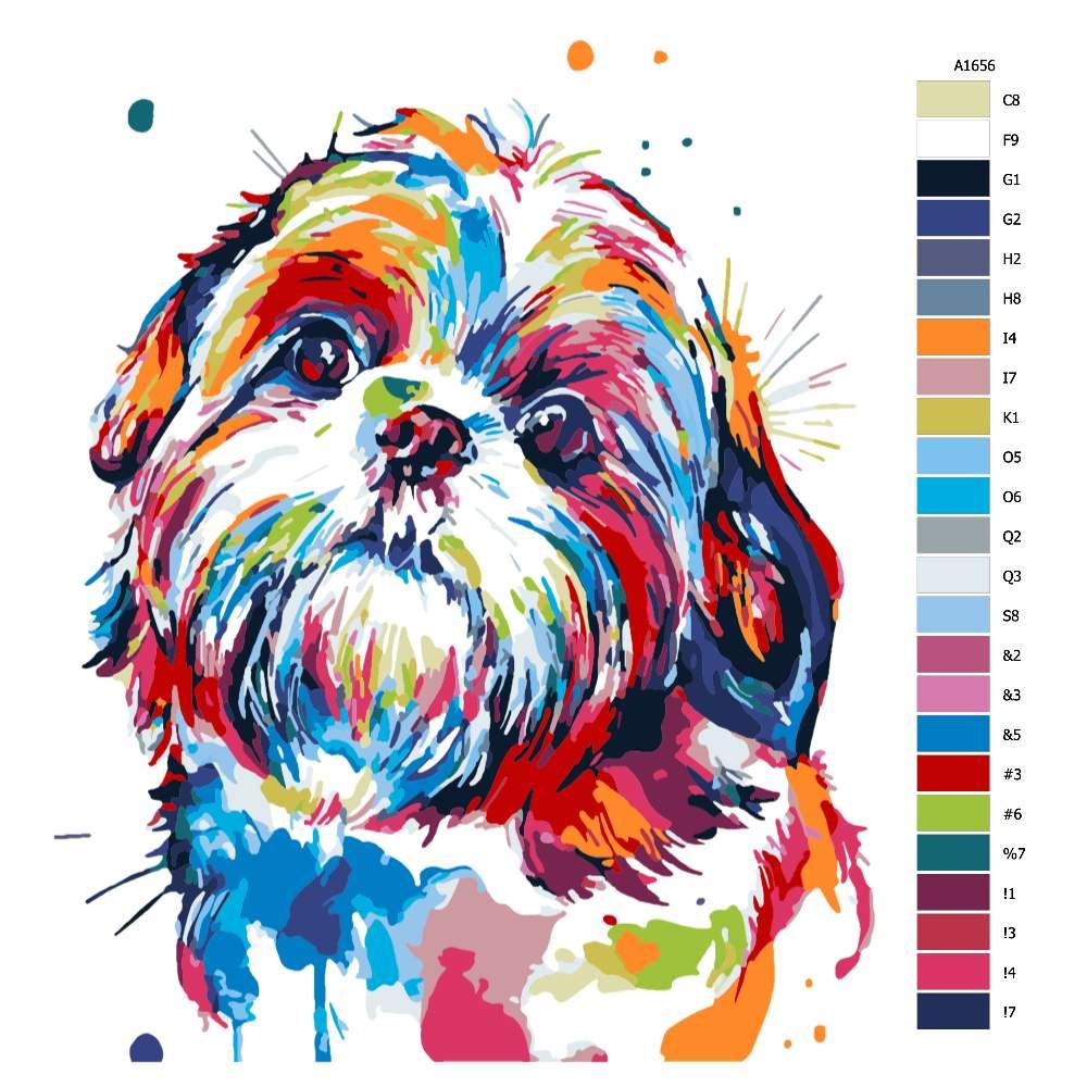 Malování podle čísel Žolík v barvách