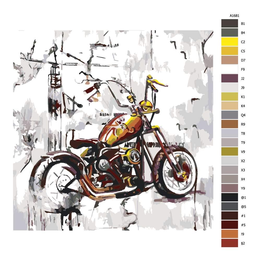 Malování podle čísel Čopr