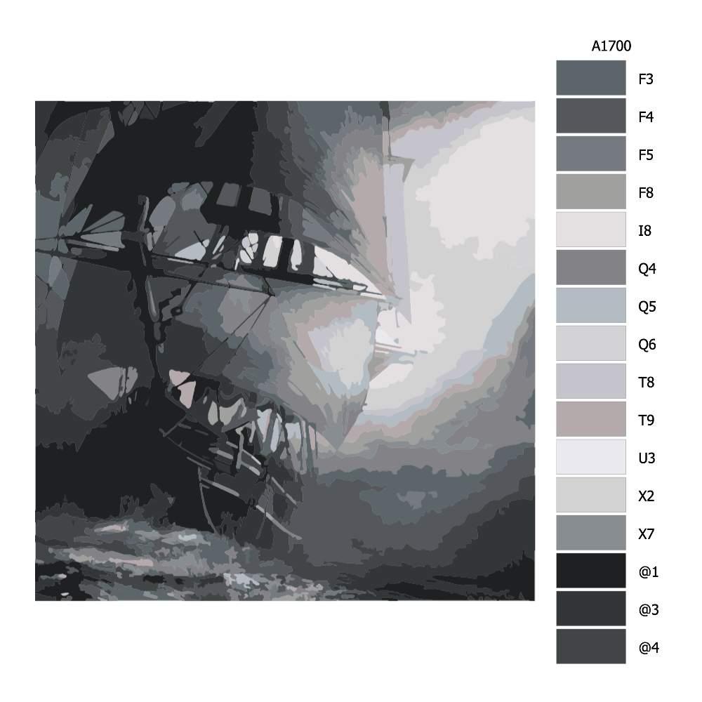 Malování podle čísel V bouři