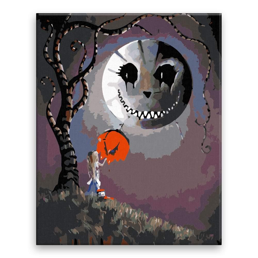 Malování podle čísel Čarovná noc