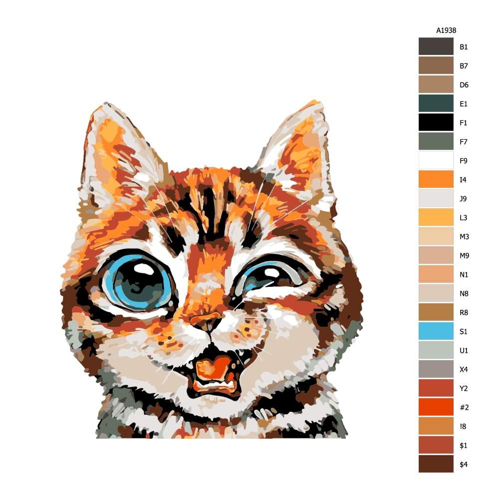 Malování podle čísel Mrk