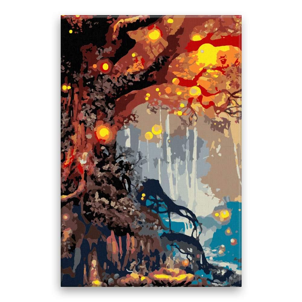 Malování podle čísel Strom věčnosti