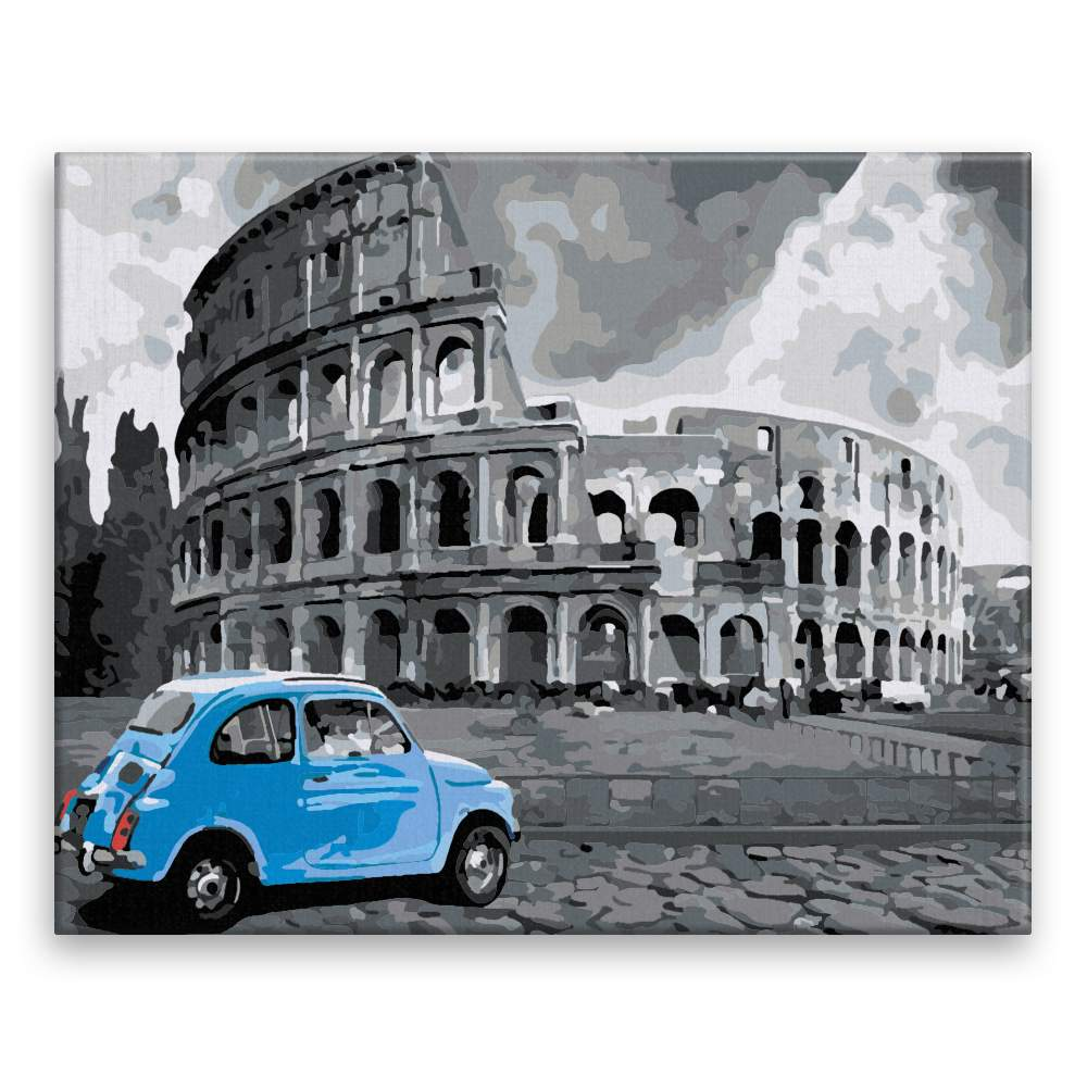 Malování podle čísel Před Colosseem