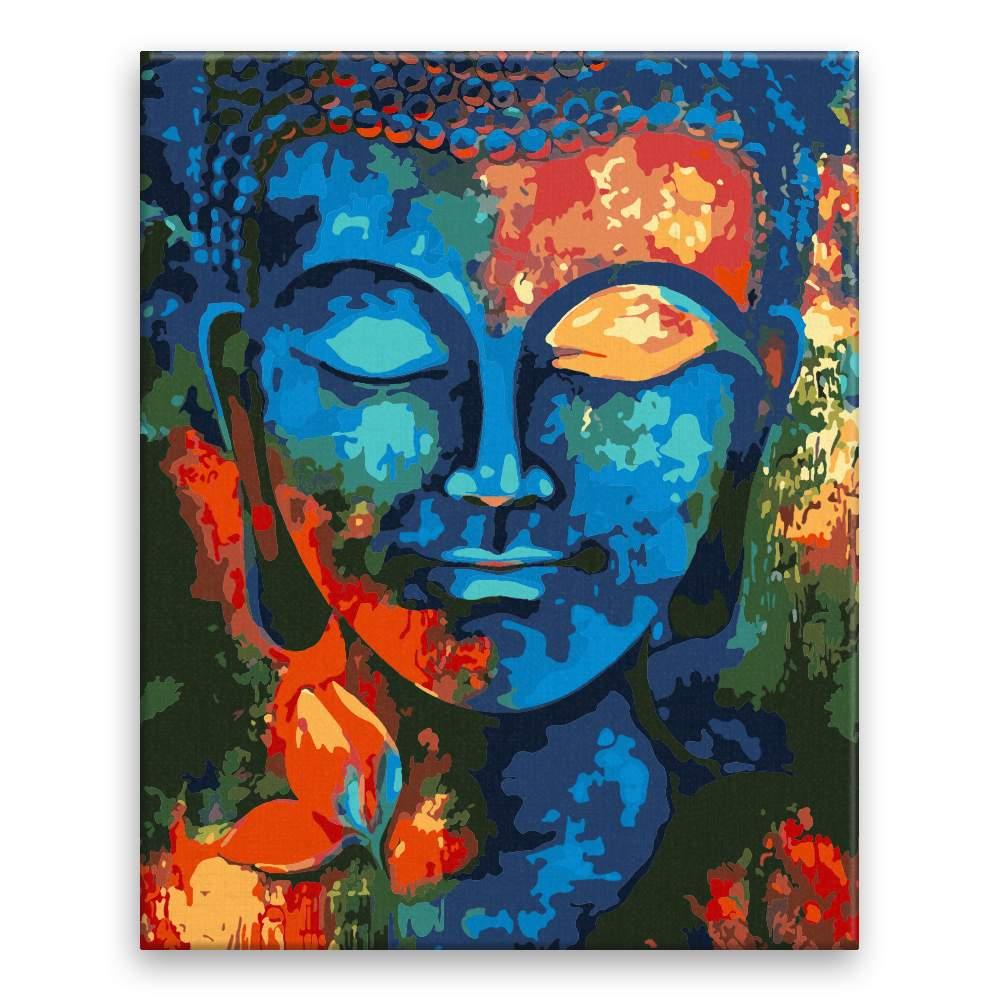 Malování podle čísel Buddha 01