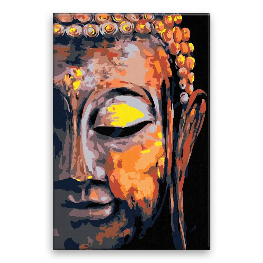 Malování podle čísel Buddha 02