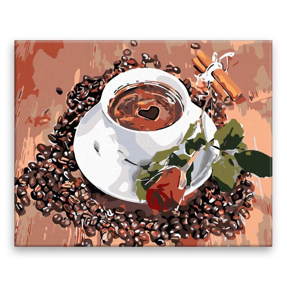Malování podle čísel Dobrá káva
