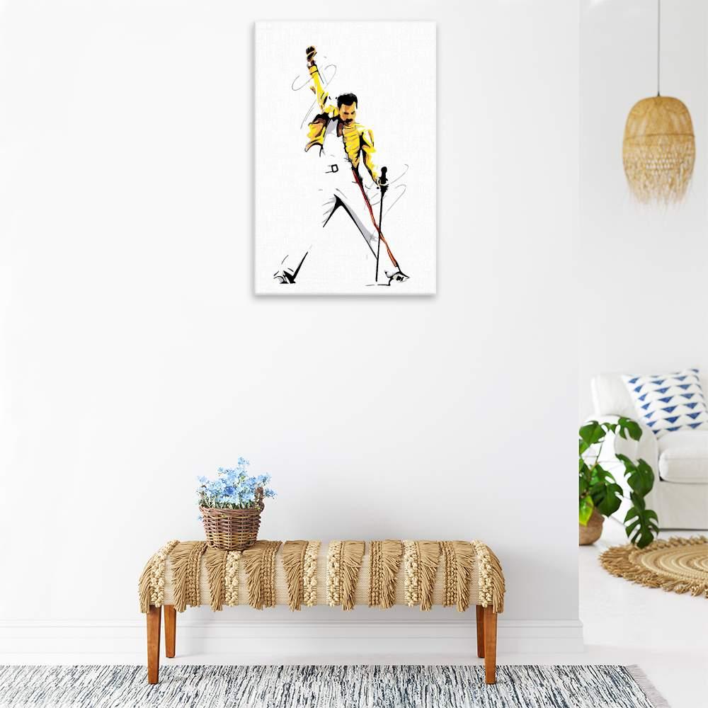 Malování podle čísel Freddie Mercury 01