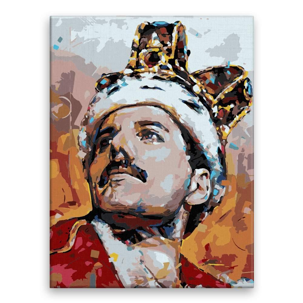 Malování podle čísel Freddie Mercury 02