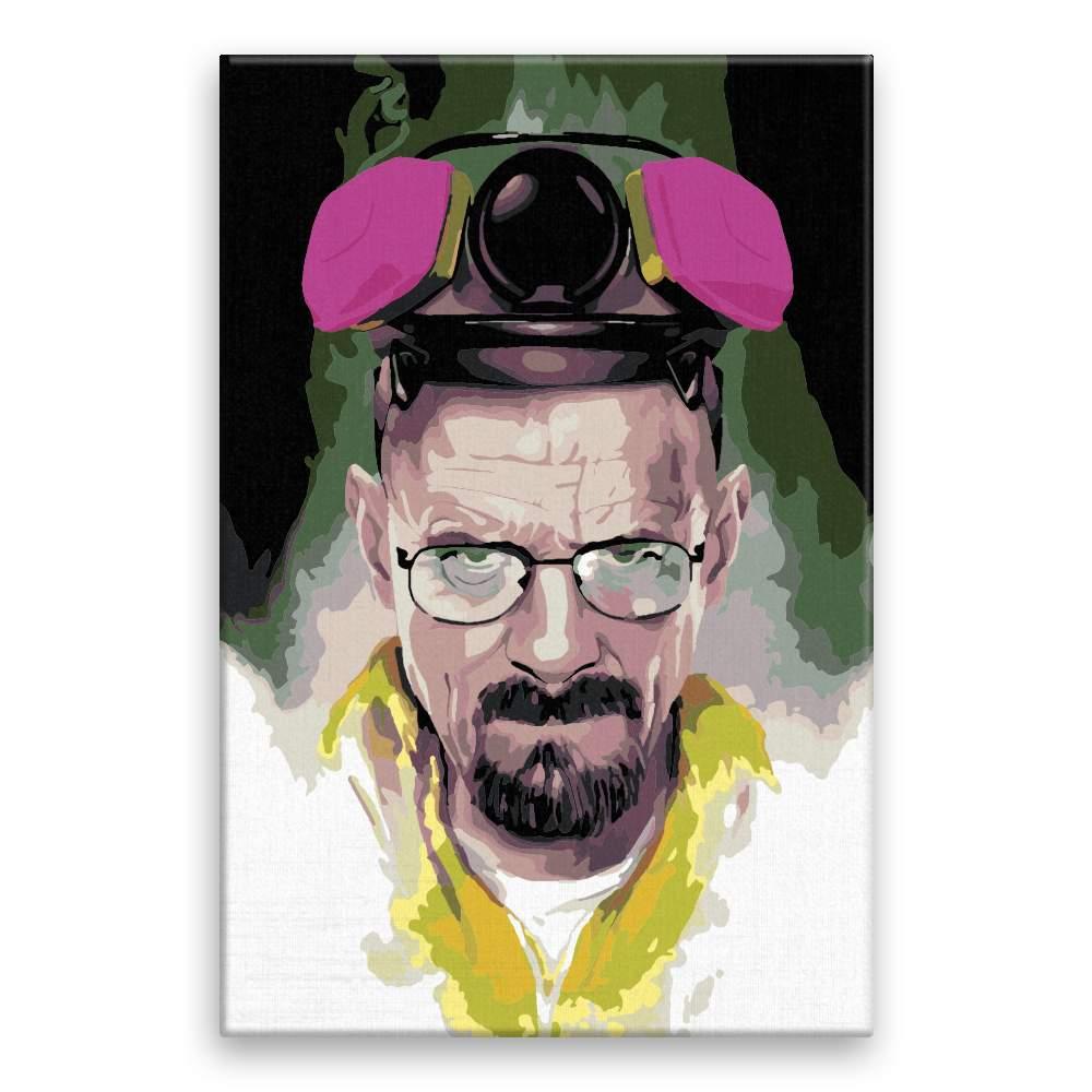 Malování podle čísel Heisenberg 02