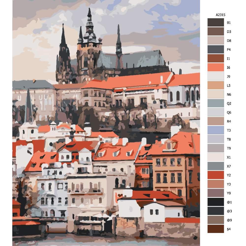 Návod pro malování podle čísel Praha 04