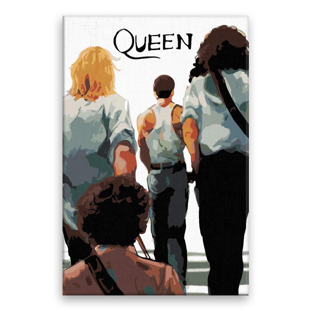 Malování podle čísel Queen