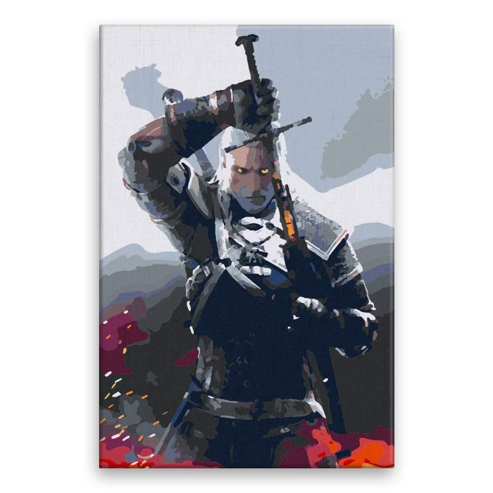 Malování podle čísel The Witcher 01
