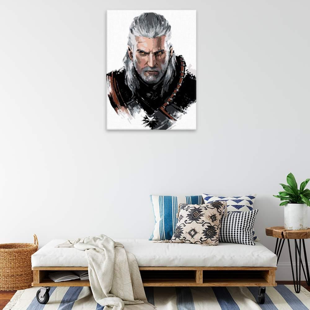 Malování podle čísel The Witcher 04